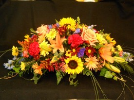 Flower Cottage Cortez Thanksgiving Centerpiece